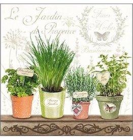 Ambiente Ambiente servetten  33x33 cm Le Jardin Provence - kruiden
