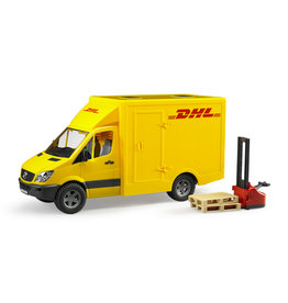Bruder Bruder 02534 MB Sprinter DHL + Handpallettruck
