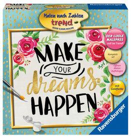 Ravensburger Schilderen op Nummer 287963  Make Your Dreams Happen
