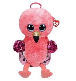 Ty Ty Fashion Rugzak Gilda de Roze Flamingo (17x12,5x26cm)