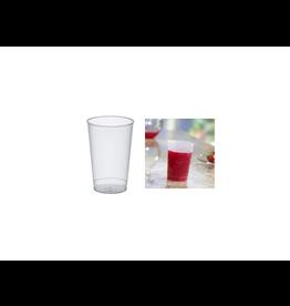 Papstar 25 Plastic Drinkbekers PP 0.3L  11.8 cm Transparant