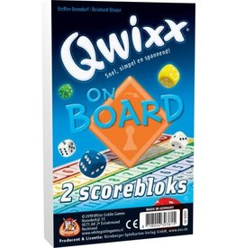 White Gobelin Games White Goblin Games Qwixx On Board - (Extra Scorebloks)