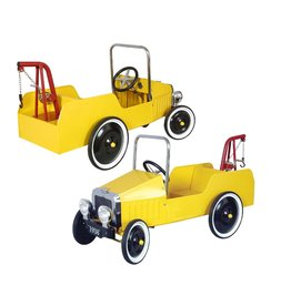 Marquant Marquant Metal Towtruck Yellow - Trapauto Kraanwagen geel