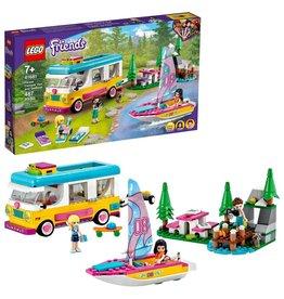 LEGO Lego Friends 41681 Boscamper en Zeilboot - Forest Camper Van And Sailboat