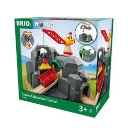 Brio Brio World 33889 Kraan en bergtunnel - Crane and Mountain Tunnel