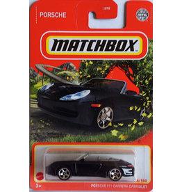 Mattel Matchbox Single Diecast Porsche 911 Carrera Cabriolet 54/100