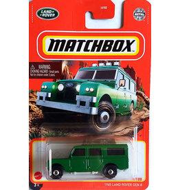 Mattel Matchbox Single Diecast 1965 Land Rover Gen II  91/100