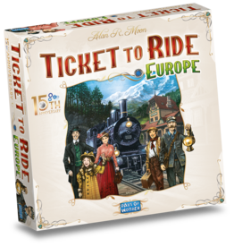 Days of Wonder Ticket to Ride Europe 15th Anniversary - NL  Limited edition Bordspel