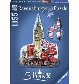 Ravensburger Ravensburger puzzel Silhouette 161553 Big Ben, London   - 1155 stukjes