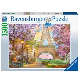 Ravensburger Ravensburger puzzel 160006 Verliefd in Parijs 1500 stukjes
