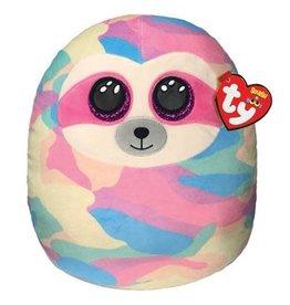 Ty Ty Squish a Boo Cooper Sloth  de roze gevlekte Luiaard 31 cm