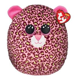 Ty Ty Squish a Boo Lainey het roze gevlekte Luipaard 31 cm