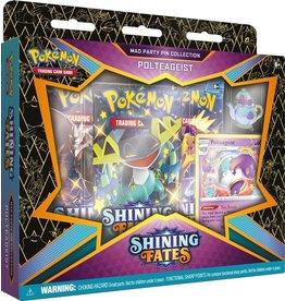 The Pokemon Company Pokémon TCG Shining Fates Mad Party Pin Collection Polteageist