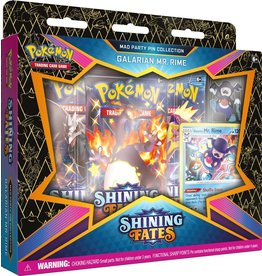 The Pokemon Company Pokémon TCG Shining Fates Mad Party Pin Collection Galarian Mr. Rime