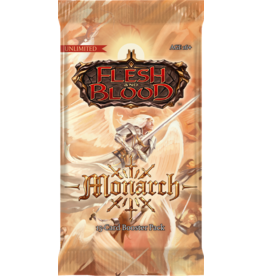 Legend Story Studio's TCG Flesh and Blood Monarch Booster Pack assortie
