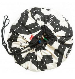 Play & go Play & Go Speelkleed/Opbergzak - Roadmap - 140cm