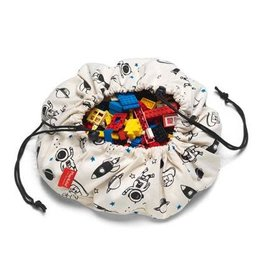 Play & go Play & Go Speelkleed/Opbergzak Mini - Space -  40cm