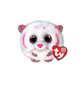Ty Ty Teeny Puffies Tabor de Wit/Roze Tijger 10cm