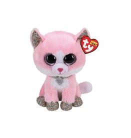 Ty Ty Beanie Boo's Fiona de Roze Kat 15cm