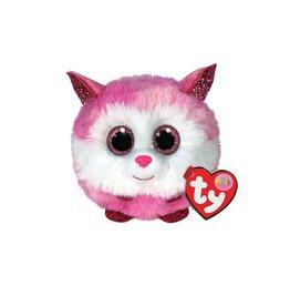 Ty Ty Teeny Puffies Princess de Roze/Witte Husky 10cm