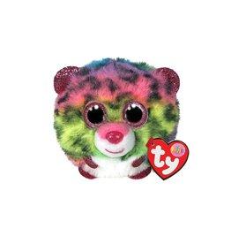 Ty Ty Teeny Puffies Dotty het Regenboog Luipaard 10cm
