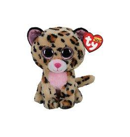 Ty Ty Beanie Boo's Livvie het Gevlekte Luipaard 15cm