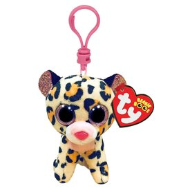 Ty Ty Beanie Boo's Clip Livvie het Gevlekte Luipaard