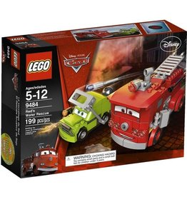 LEGO Lego Cars 9484 Red redt zich eruit - Red's Water Rescue