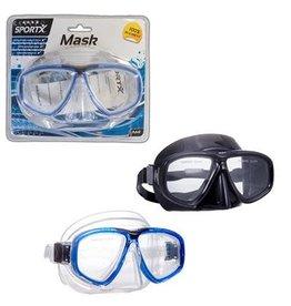 Sportx SportX Adult Zwemmasker **** blauw of zwart