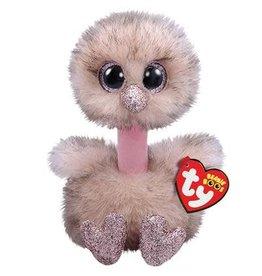 Ty Ty Beanie Boo's Henna  de Glitter Struisvogel 15cm