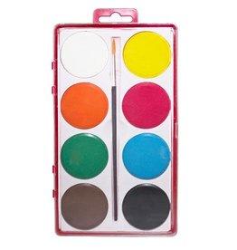 Waterverfset 8 kleuren