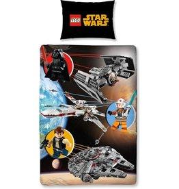 LEGO Dekbedovertrek Lego Star Wars Space (140x200cm)