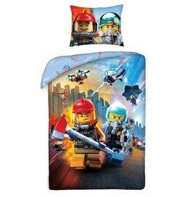 LEGO Dekbedovertrek Lego City (140x200cm)