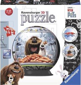 Ravensburger Ravensburger 3D Puzzel The Secret Life Of Pets (72 Stukjes)