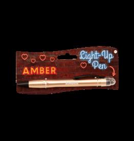 Paper Dreams Light Up Pen - Amber