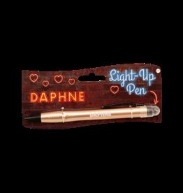 Paper Dreams Light Up Pen - Daphne