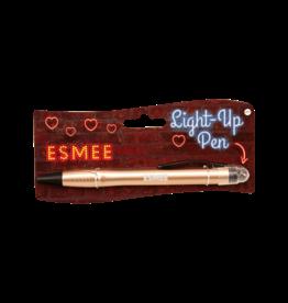 Paper Dreams Light Up Pen - Esmee