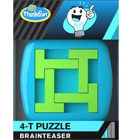 Ravensburger ThinkFun 763825 A-HA! 4-T Puzzle  – Breinbreker