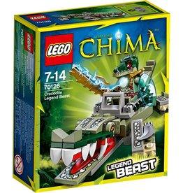 LEGO Lego Chima 70126 Krokodil Legendebeest – Crocodile Legend Beast