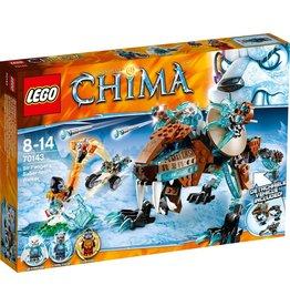 LEGO Lego Chima 70143 Sir Fangars Sabeltand Walker