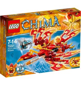 LEGO Lego Chima 70221 Flinx's Ultieme Phoenix - Flinx's Ultimate Phoenix