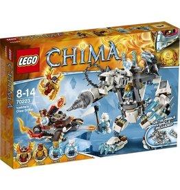 LEGO Lego Chima 70223 Icebite's Drilklauw – Ice Bite's Claw Driller