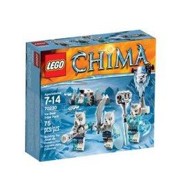 LEGO Lego Chima 70230  IJsbeerstam Vaandel -Ice Bear Tribe Pack
