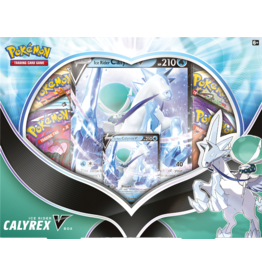 The Pokemon Company Pokemon TCG August V Box Calyrex Ice Rider