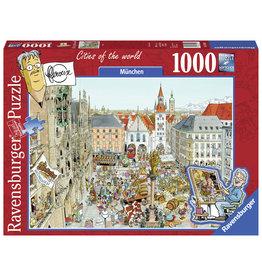 Ravensburger Ravensburger Puzzel 149742 Fleroux Munchen (1000 Stukjes)