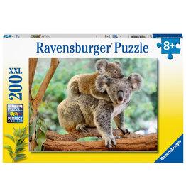 Ravensburger Ravensburger Puzzel 129454 Familie Koala (200 XXL Stukjes)