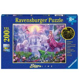 Ravensburger Ravensburger Puzzel 129034 Magische Eenhoornnacht (200 XXL Stukjes)