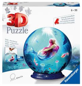 Ravensburger Ravensburger 3D Puzzleball 112500 Enchanting Mermaids (72 Stukjes)