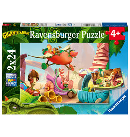 Ravensburger Ravensburger Puzzel 051571 Bouwplaats en Wedstrijd  (2x24 Stukjes)