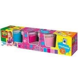 SES Creative SES Creative Vingerverf Pink (4x145ml)